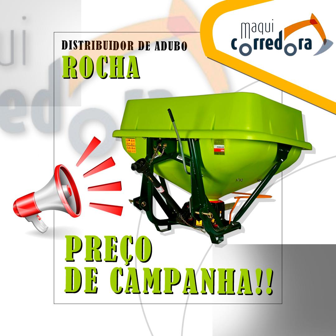 Campanha DISTRIBUIDORES ADUBO Rocha